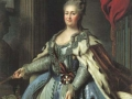 Catherine II; Portrait by Albert Albertandi, 1770