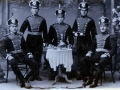 Illustration #3.9: Photograph circa 1893 of German Russian officers in Czarist military uniform.